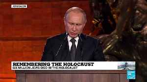 "Putin: ""The memory of the Holocaust will only become a lesson and a warning if its comprehensive"" [Video]"