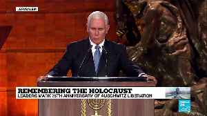 Remembering the Holocaust: US Vice-President Mike Pence addresses world leaders [Video]