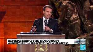 Remembering the Holocaust: French president Emmanuel Macron [Video]