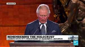 """Prince Charles: """"The magnitude of the genocide defies comprehension"""" [Video]"""