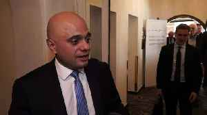 Sajid Javid has 'huge confidence' in Britain after Brexit [Video]