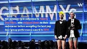 Camila Cabello Vows to Accept Grammy Award in Her Underwear [Video]
