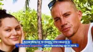 Channing Tatum and Jessie J Reunite After Month-Long Split [Video]