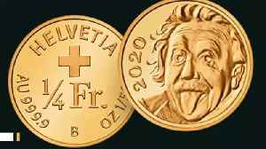 Newly Unveiled World's Smallest Gold Coin Features Einstein [Video]