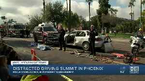 Annual Arizona Distracted Driving Summit takes place in Phoenix [Video]