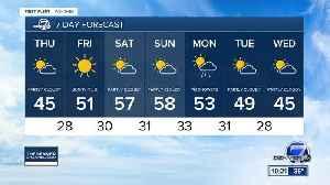 Slightly cooler for Wednesday in Denver [Video]