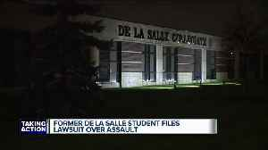 Former De La Salle student files lawsuit over assault [Video]