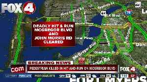 Fort Myers pedestrian killed in hit and run crash on McGregor Boulevard Wednesday night [Video]