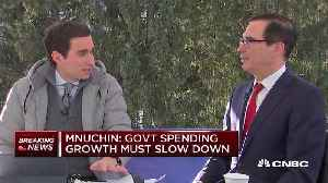 Mnuchin on climate and comments about Thunberg [Video]
