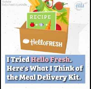 I Tried HelloFresh. Here's What I Think of the Meal Delivery Kit. [Video]