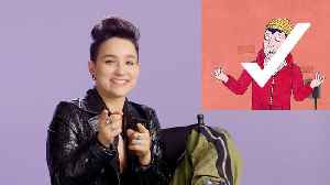 Hell Fest's Bex Taylor-Klaus Takes the LGBTQuiz [Video]