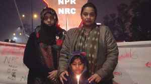 Three generations join Delhi women's sit-in [Video]