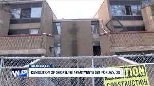 Demolition of Shoreline Apartments will begin Jan. 23 [Video]