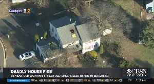 Woman, Child Killed In Fire In Edison, NJ [Video]