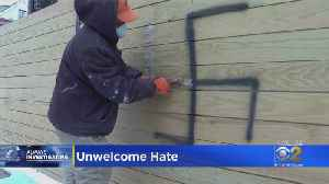 Swastika Found Spray-Painted On Logan Square Fence [Video]