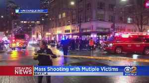 9-Year-Old Among Multiple Victims In Downtown Seattle Shooting; Suspect At Large [Video]