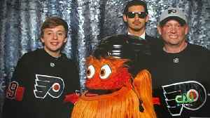 Police Investigating Claim Flyers Mascot Gritty Physically Assaulted Teen Boy During Photo Shoot [Video]