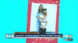 Ashley Toye's conviction overturned [Video]
