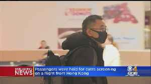 Passengers Held For Extra Screening On Flight From Hong Kong [Video]