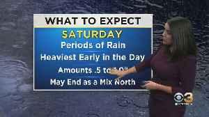 Philadelphia Weather: Soggy Weekend In Store [Video]