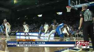 Tulsa Basketball blows out #20 Memphis, 80-40 [Video]