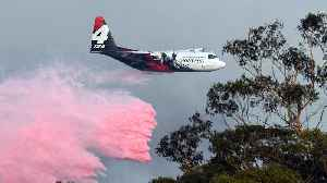 Australia fires plane crash: Search under way for air tanker jet