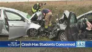 Crash Has Pleasant Grove High School Students Concerned [Video]