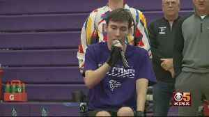East Bay Wrestler Paralyzed In Match Returns To Wrestling Mat With Special Message [Video]