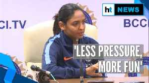 News video: Watch: Skipper Harmanpreet shares India's strategy for Women's T20 World Cup