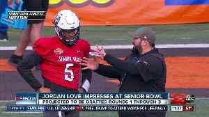 Jordan Love grabbing attention at Senior Bowl [Video]