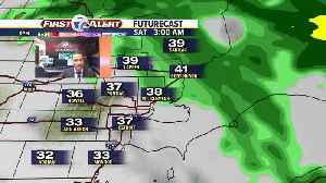 Clouds return with milder temps [Video]