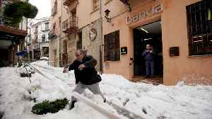 Spain clears up after winter storm kills four, causes power cuts [Video]