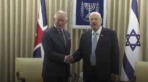 Charles meets Israeli President