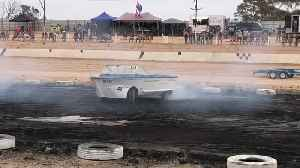 Boat Tears up the Burnout Pad [Video]