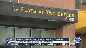 News video: New affordable apartment complex opens in Lakewood
