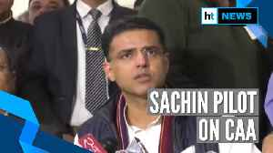 Rajasthan to be 3rd state to pass anti-CAA resolution? Sachin Pilot answers [Video]