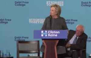 Hillary Clinton walks back Sanders comments [Video]