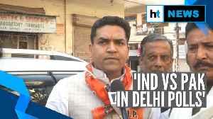 Delhi Election 2020 will be 'India vs Pakistan': BJP's Kapil Mishra [Video]