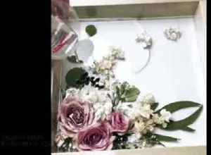 U.S. artist shows off beauty of flowers in series of charming resin pour videos [Video]
