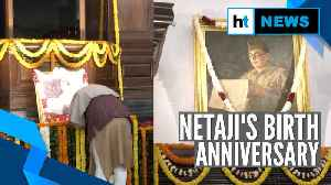 Watch: On Netaji's 123rd birth anniversary, PM Modi pays floral tribute [Video]