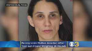 Police: Pennsylvania Woman Facing Charges After 16-Year-Old Son Found Weighing 26 Pounds [Video]