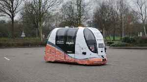 Driverless vehicles are being tested for the first time in Britain [Video]