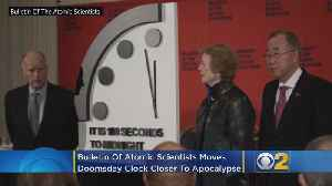 Bulletin Of Atomic Scientists Moves Doomsday Clock Closer To The Apocalypse [Video]
