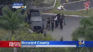 WEB EXTRA: Police Chase In Broward Ends Near Seminole Hard Rock Hotel [Video]