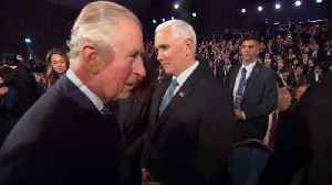 Prince of Wales denies snubbing US vice president Mike Pence