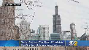 Chicago Is The Most Affordable Big City For Minimum Wage Workers [Video]