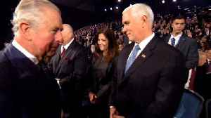News video: Pence's Office: No, Prince Charles Didn't Snub Pence