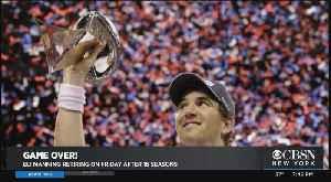 Giants Quarterback Eli Manning Retiring After 16 Seasons [Video]
