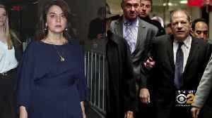 Annabella Sciorra Faces Harvey Weinstein In Court [Video]