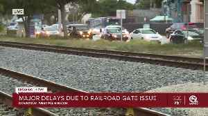 UPDATE: Railroad gate problem fixed in downtown West Palm Beach, police say [Video]